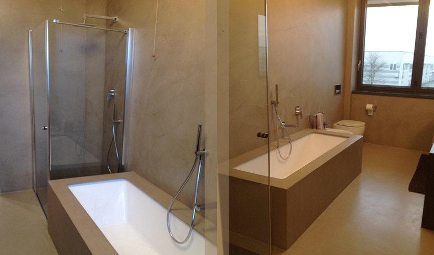 Bagno per villa privata a Parma