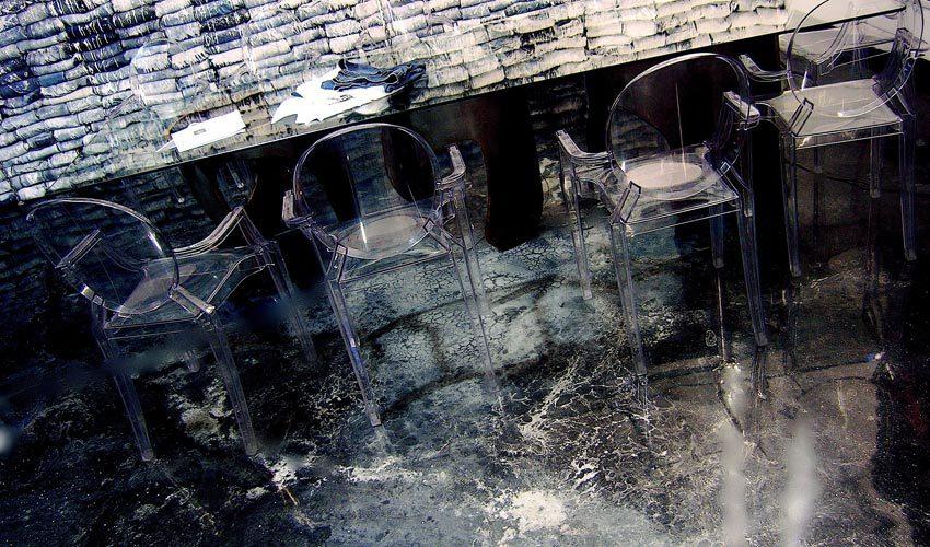 Pavimento in resina per negozio di moda a Milano