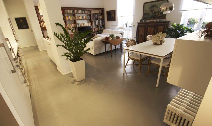 Pavimenti in resina per la casa pareti e scale in resina for Pareti in resina