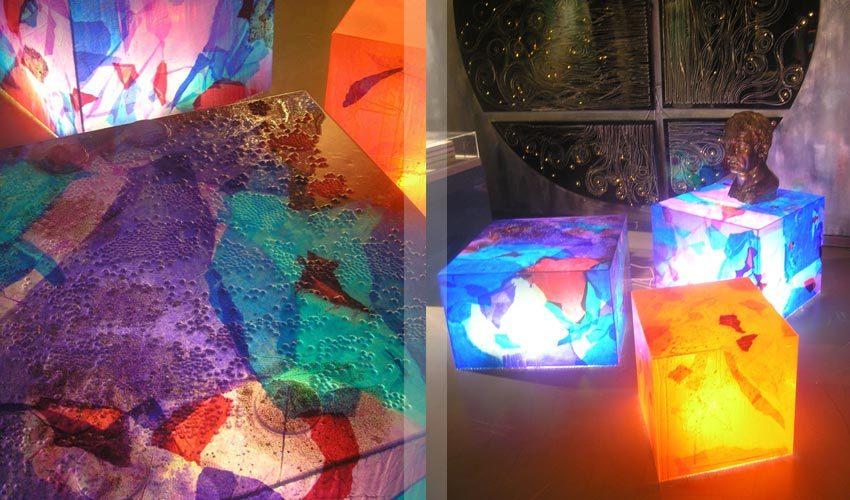 Lampade in resina
